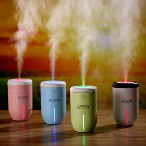 Lens Aroma Humidifier Office Desktop USB Humidifier Vehicle Lens Appearance Health Care Fragrance For Vent Air Fresheners Watermelon A 5BWE#