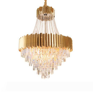 Işık yatak odası kolye ışık restoran kolye lamba led ışık Ceilling 2020 yeni satış Modern led kristal avize oturma odası