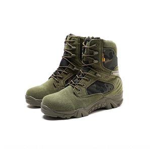 Forças especiais ao ar livre de combate camuflagem vôo tático alpinismo botas botas de deserto dos homens de guerra guerra