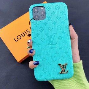 Лучшие телефоны Чехлы кожаные Дизайнерские для iPhone 11 11Pro Max Xr Xs MAX 7 8 Plus Case L Letter Luxury Phone Case