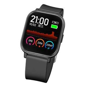 Big Screen 1.6 Zoll Smart Watch-Touch Sauerstoffmonitor Blutdruck lange Standby-Puls-Sport-Gesundheit Mode Frauen Smart-Uhren
