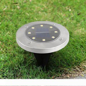 LED Solar Power Buried Light Under Ground Lamp Outdoor Path Way Garden Decking Lamp Outdoor Path Way Garden Decking Light