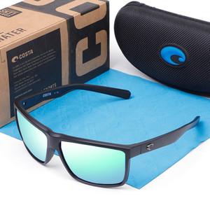 580P Rinconcito Square Lunettes De Soleil Hommes Costa Brand Design Sport Lunettes de soleil Miroirs Revêtement polarisants Lunettes de conduite Homme UV400 Oculos