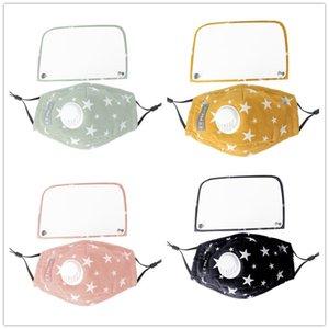 NEU: Student Kinder Abnehmbare Maske für Frauen und Männer Removable Adjustable Masken Sonnenschutz Augen Gesichtsmasken Abdeckung mit Atemventil DHF8