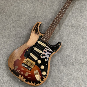 High Quality The new handmade relic SRV electric guitar.customized!S-42