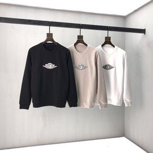 Au début du printemps 2020 nouveau logo lettre color block à manches courtes en coton Tee fine double brin C57 noir et blanc