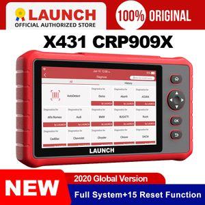 Lancement X431 crp909x scanner complet des systèmes OBD2 lecteur de code automatique outil de diagnostic wifi OBDII EOBD outil automobile pk crp909 mk808