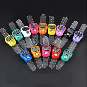 DHL FEDEX Бесплатная доставка 200 шт. Мини ручной удержание полосы подсчетлю Счетчик ЖК-цифровой экран палец кольцо электронные головки графом TASBEEH TASBIH