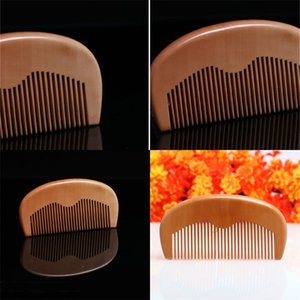 Mahoganys Beards Combs Hair Brush Comb Mini Cute Styling Tools Hair Trimmer Compact Exquisite Customized Logo 1 4hs E2