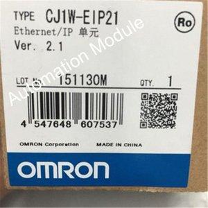 1 pcs nouvelle CJ1WEIP21 CJ1WEIP21 série CJ1 PLC EtherNet IP Module 100Base-TX 410 Ma 5VDC Garantie de 1 an dans le monde entier rJQt # expédition