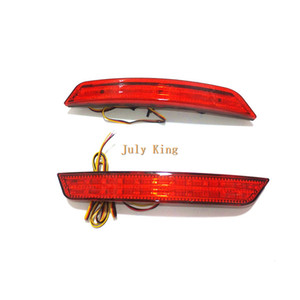 July King LED Rear Bumper Brake Light Case for Ford Mondeo Winning 2008-2010, LED Brake Light + Night Driving Lights DRL
