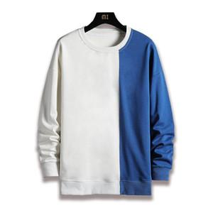 Çiftler Arkadaşlar Gençler için VERSMA Kore Harajuku Vintage Dikiş Hoodie Kazak Erkekler Kadınlar Streetwear Eşofman BF Tişörtü