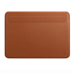 Ultra-fino PU Leather Laptop Bag azul capa 13 para Macbook Pro / Air 13,3 A1706 / A2159 / A2179 / A1989 / A1708 / A1932
