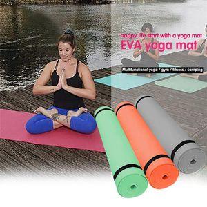 Non-slip Extra Thick 4mm Yoga Mat 173 x 61cm Men Women Fitness Soft Mat Tasteless Gym Household Exercise Pilates Yoga July 2nd