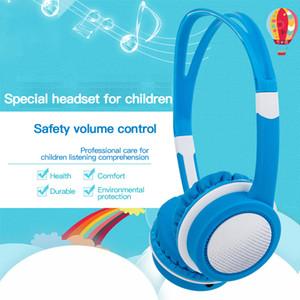 85dB corte crianças sobre orelha fones de ouvido com fio com segurança fone de ouvido fone de ouvido ajustável computador tablet criança envelheceu 4-12 fones de ouvido