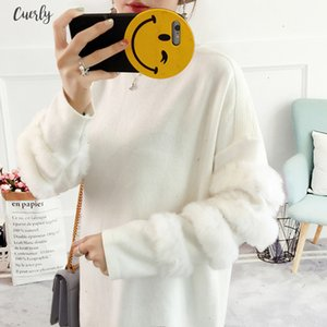 Sweaters Women And Pullovers Casual Oversized Sweater Christmas Winter Sleeve Pull Femme Knitted Jumpers Drop Shipping