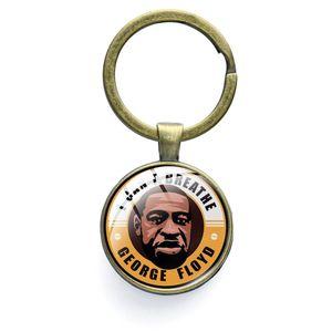 I Cant Breathe брелок Key Ring Black Lives Matter