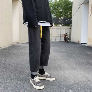Jeans For Men Trend Slim Fit Pants Classic 2020 Summer Jeans Trousers Casual Straight Pants Fashion Pencil