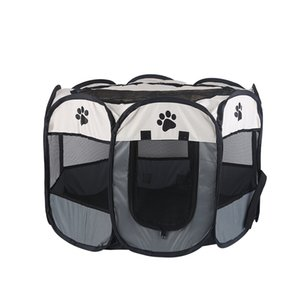 Outdoors For Large Dogs Pet House Breathable Portable Dog Tent Indoor Foldable DogS House Octagon Pet Playpen