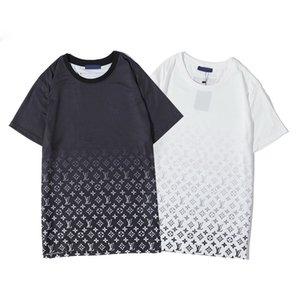 2020 Paris-Fans T-Shirt der Männer Damen des Sommers beiläufige helle T-Shirt Baumwolle Buchstaben Mode Kurzarm-Medusa T-ShirtM-3XL
