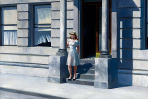 Pinturas de aceite de impresión Edward Hopper verano Decoración pintada a mano de alta definición en la lona Wall Art Imágenes 200801