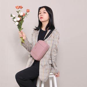 Weichen siempre mensajero del hombro del cartero del paquete del paquete de Corea del cartero bolso de la manera de la PU del bolso de hombro de múltiples funciones de las mujeres jóvenes