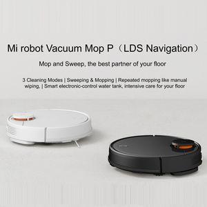 Global Versión Xiaomi Mi Robot Vacuum Cleaner Mop Pro Sweep and Drag 3 Modo de navegación láser LDS cuidado 2100Pa del Suelo de madera