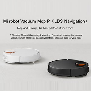 Ahşap zemin Global Versiyon Xiaomi Mi Robot Süpürge Paspas Pro Sweep ve Drag 3 Mod LDS lazer navigasyon 2100Pa bakım