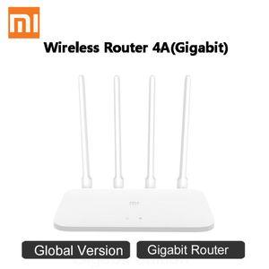 Xiaomi MI Маршрутизатор 4A Gigabit Версия 2.4 ГГц 5 ГГц Wi-Fi 1167 Мбит / с Wi-Fi Repeater 128MB DDR3 Высокая прибыль 4 Andendans Network Extender