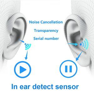 Air Gen 3 Pro AP3 Noise cancellation Transparency Gen 2 Rename GPS Bluetooth Headphones Earphones headset For Pods Pro AP3 pro Earbuds AP2