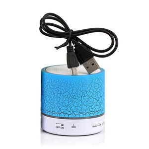 A9 Bluetooth Speaker Mini Wireless Loudspeaker Crack LED TF USB Subwoofer Bluetooth Speakers Mp3 Stereo Audio Music Player