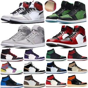 1s tênis de basquete Mens 1 alta OG Toe Preto Não Para Revenda designer de tênis homens Preto amarelo Low Shadow Multicolor formadores