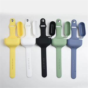 airpods vaka airpods için renkli Bilek Bandı Kayışı Bileklik eli 2 hava Pod'umuz kulaklık şarj kutusunun koruyucu kapağı airpod
