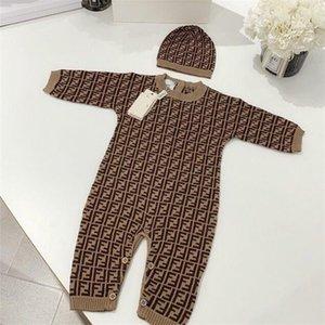 Herbst-Baby-Karikatur-Spielanzug Säuglingsbaumwoll Overall Kids Stripe Strampler Newborn Streifen-langärmlige Kleinkind-Strampler Kleidung