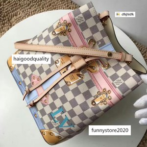 dfkjhldfk MA8V M60649 Classic Check Coated Crossbody WOMEN HANDBAGS ICONIC TOP HANDLES SHOULDER BAGS TOTES CROSS BODY Bag CLUTCHES