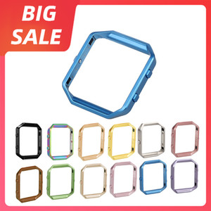 Replacement Aluminium Frame Holder Case Cover Shell Metal Frame Bezel For Fitbit Blaze Activity Tracker Smart Watch Band