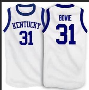 mulheres costume Homens Jovens Vintage # 31 Sam Bowie Kentucky Wildcats basquete Jersey Tamanho S-4XL ou personalizado qualquer nome ou número de jersey