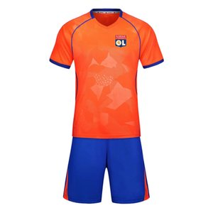 LYONNAIS 2020 football training suit short suit can be men's sports training suit running wear casual wear group climbing sportswear