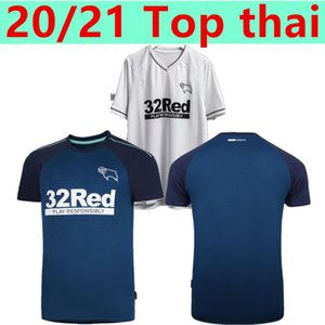 20/21 Derby County Football Club maglie di calcio 2020 casa bianca SAGGEZZA Waghorn MARTIN camicia di calcio HAMER ROONEY calcio uniforme
