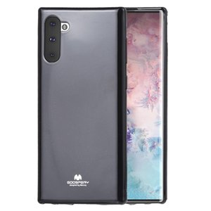 GOOSPERY JELLY TPU Shockproof and Scratch Case for Galaxy Note 10