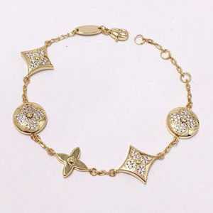 316L stainless steel charm bracelet chain with diamonds for women bracelet jewelry drop shipping PS5379