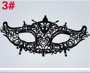 2020 NEW Prom Black Sexy Lace mask Princess eye mask Christmas party masks