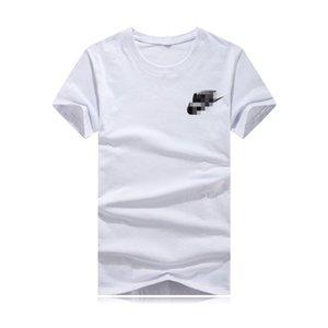Uomo Nike progettista magliette Parigi Patchwork Banda nastri di raso T-shirt Moda Donne Abbigliamento maschile raffreddano Skateboard T Shirt Casual Tee