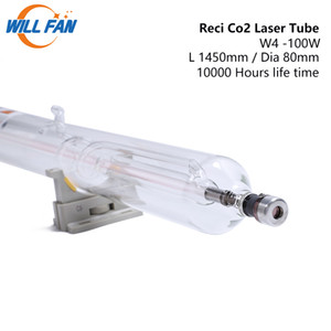 팬 팬 reci w4 100W CO2 레이저 튜브 길이 1450mm 디아테이트 80mm 레이저 조각 커터 기계 10000 시간 유리 파이프