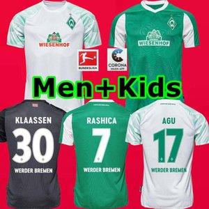 Top THAILA 20 21 SV Werder Bremen Fútbol 2020 2021 hogar lejos camisas tercer KLAASSEN Füllkrug Osako RASHICA M.EGGESTEIN Fútbol