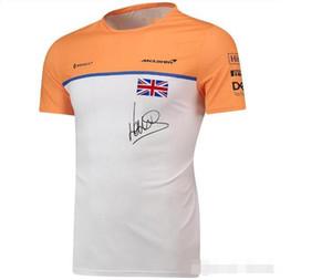 F1 포뮬러 원 팬 경주 정장 반소매 T 셔츠 팀 정장 2,020 매 클래 런 캐주얼 라운드 넥은 티 정상을 빠른 건조