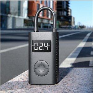 샤오 미 전기 팽창기 펌프 휴대용 스마트 디지털 타이어 압력 감지를위한 자전거 오토바이 자동차 축구