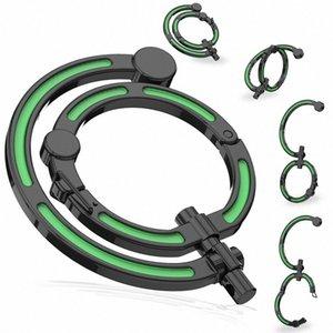 Multifuncional sin bloqueo Mosquetón Gancho giratorio camping Ganchos clips cielo azul, verde, blanco, Negro qCRd #
