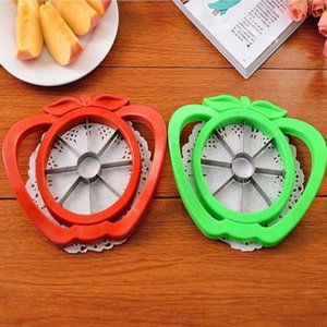 Gadgets de cocina de acero inoxidable cortador de Apple Slicer fruto legumbre herramientas de cocina Accesorios de Apple Easy Cut Slicer Cortador YYA55