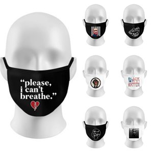 Hot Sale Designer Letter Reusable Unisex Cotton Face Masks With Breath Valve Pm2.5 Mouth Mask Fabric Washable Mask With Filter S #826